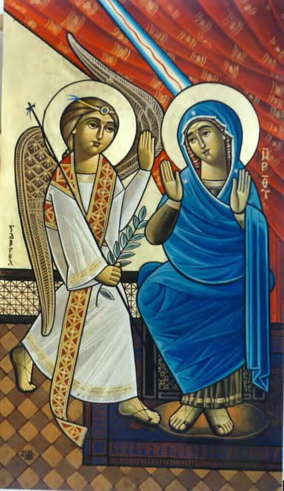 The Annunciation to the Holy Virgin Mary