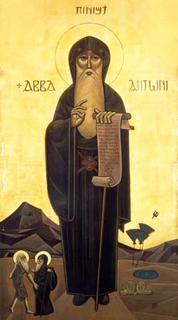 St. Anthony the Great, the Father of All the Monks